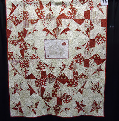 Quilt #15 of the Quilts of Valour Challenge
