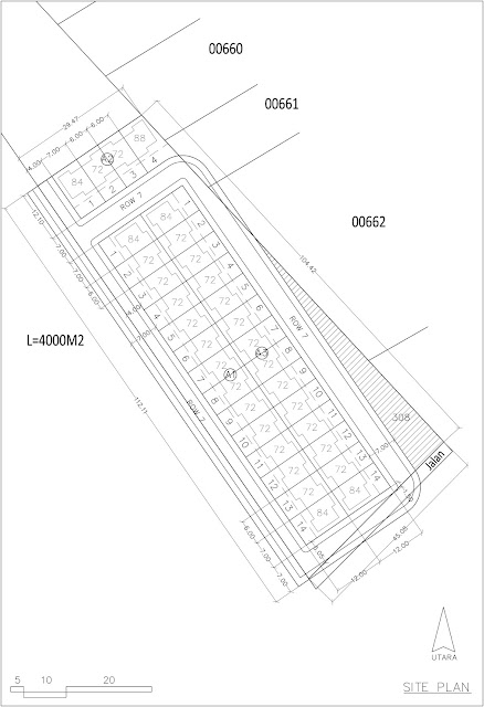 Site Plan Rumah Tinggal