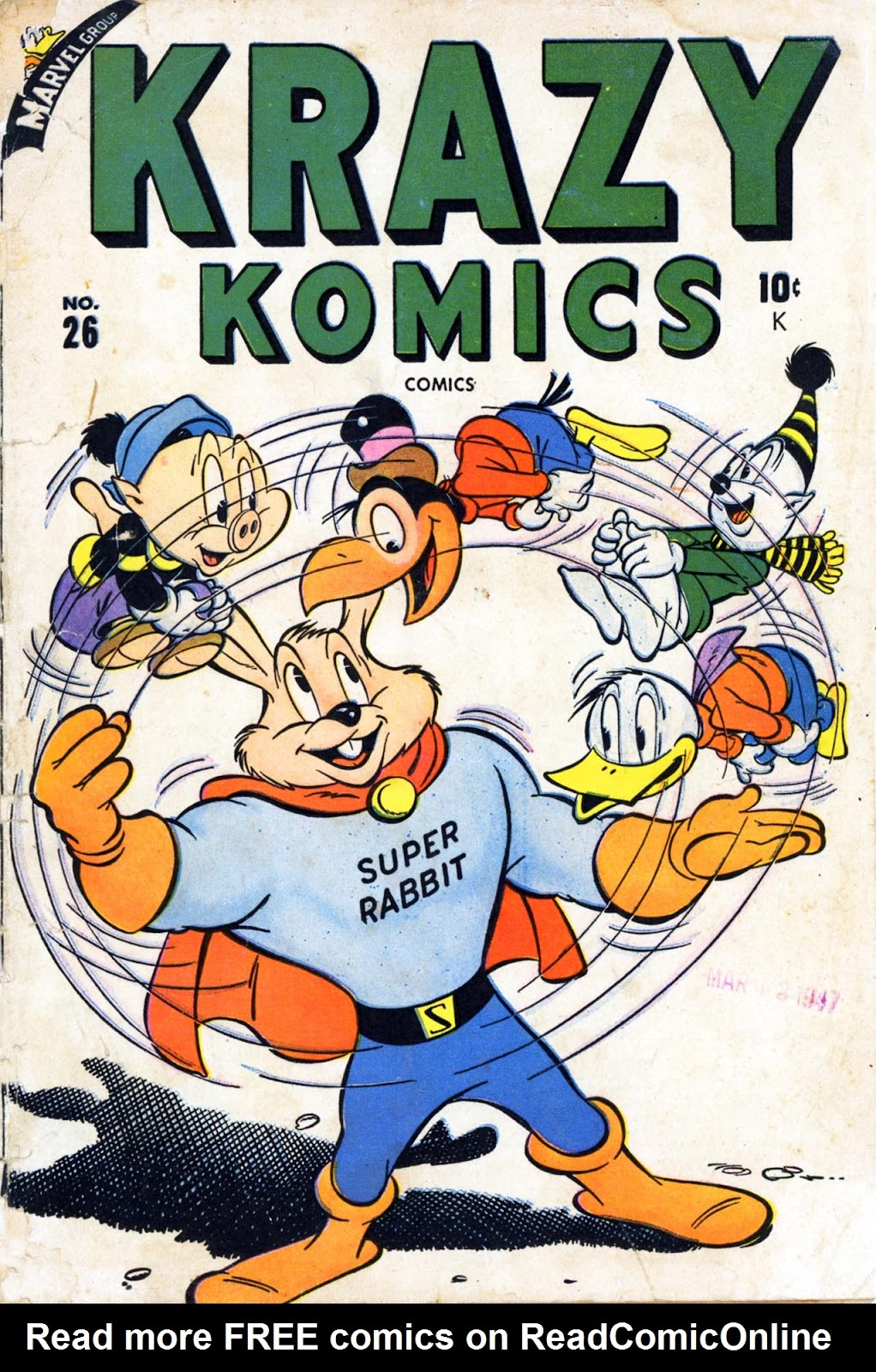 Krazy Komics issue 26 - Page 1