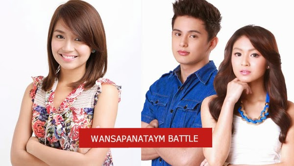 Battle of Wansapanataym's : Kathryn Bernardo vs James Reid-Nadine Lustre