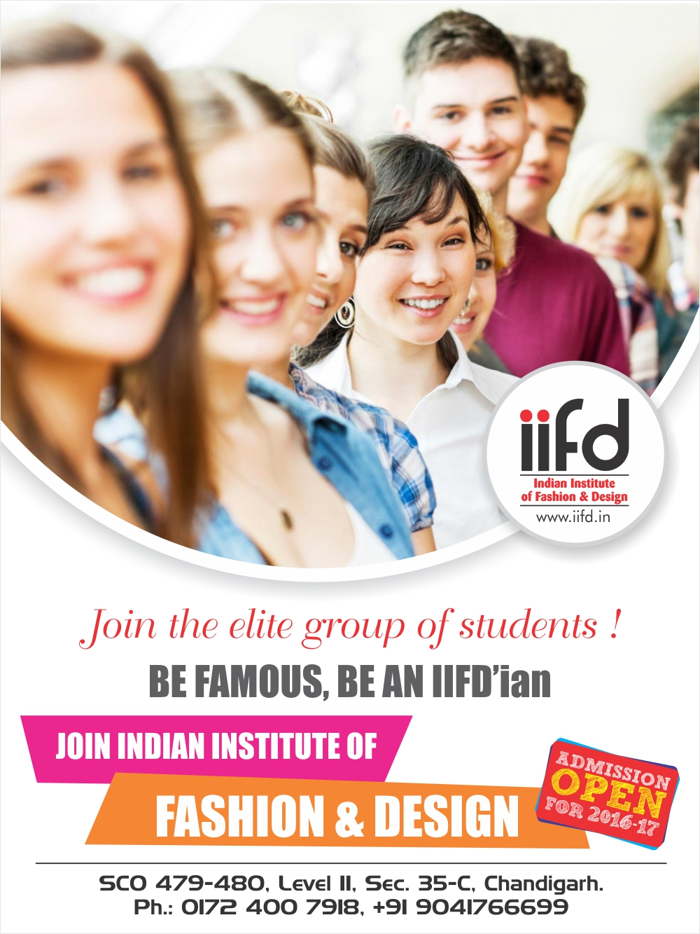 Iifd Best Fashion Designing Courses Institute In Chandigarh Punjab Intensity In Fashion Industry