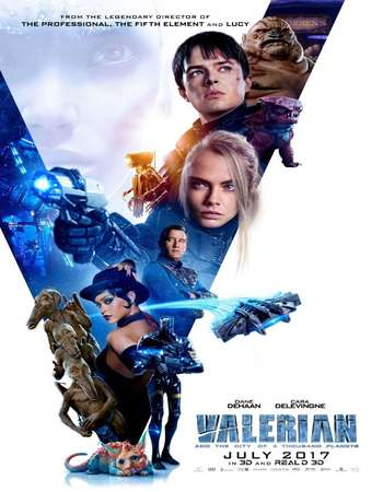 Valerian and the City of a Thousand Planets 2017 Hindi Dual Audio BRRip Full Movie Download