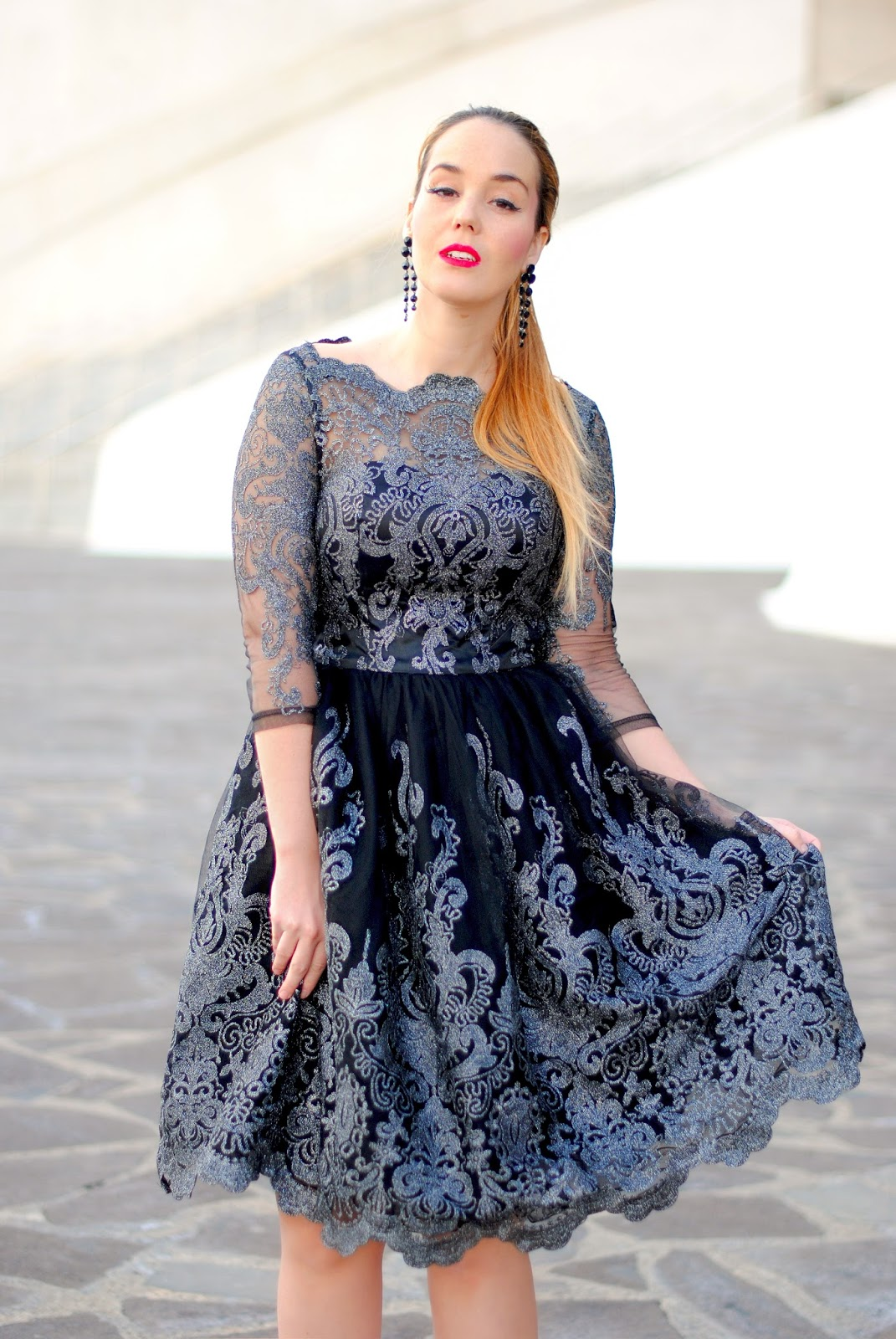 nery hdez, chic chi, lottie dress, baroque dress, dresses for events, vestido para graduación