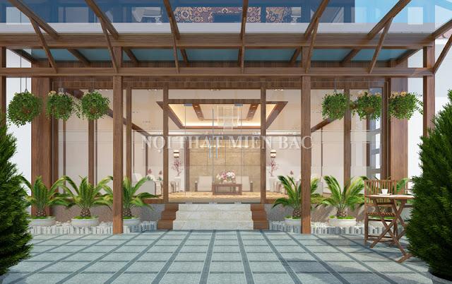Những thiết kế khu vườn thiên nhiên như thế này chắc chắn sẽ là sự lựa chọn hoàn hảo cho mọi thiết kế nội thất văn phòng doanh nghiệ