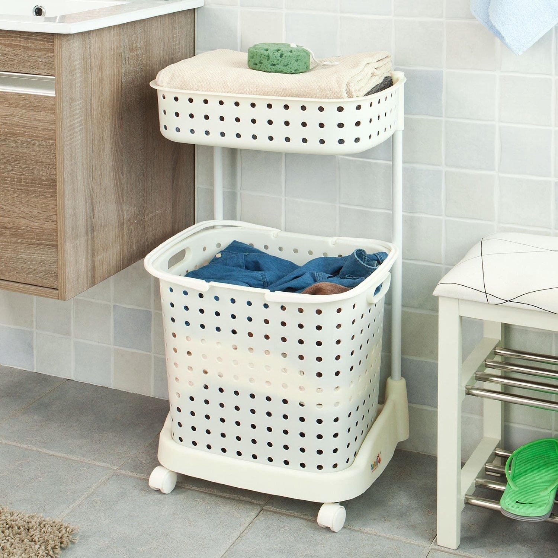 10 idee salvaspazio low cost per bagni piccoli for Portabiancheria bagno