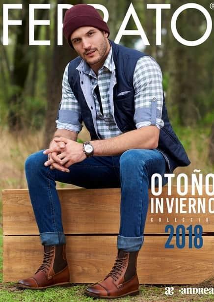 Catalogo Andrea ferrato caballeros calzado otoño invierno 2018