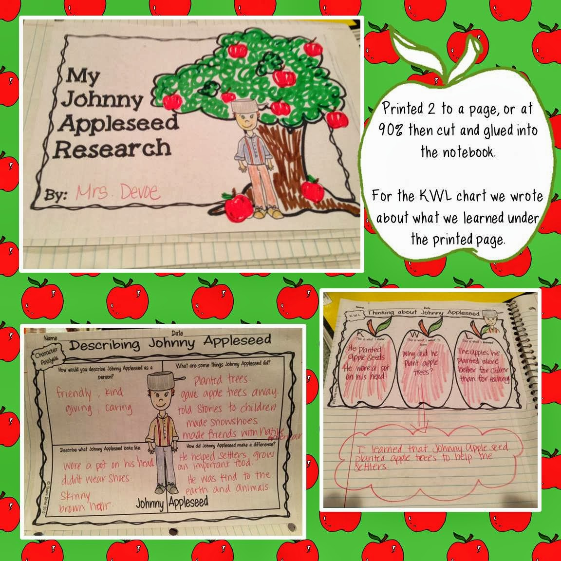 The Picture Book Teacher S Edition Johnny Appleseed By