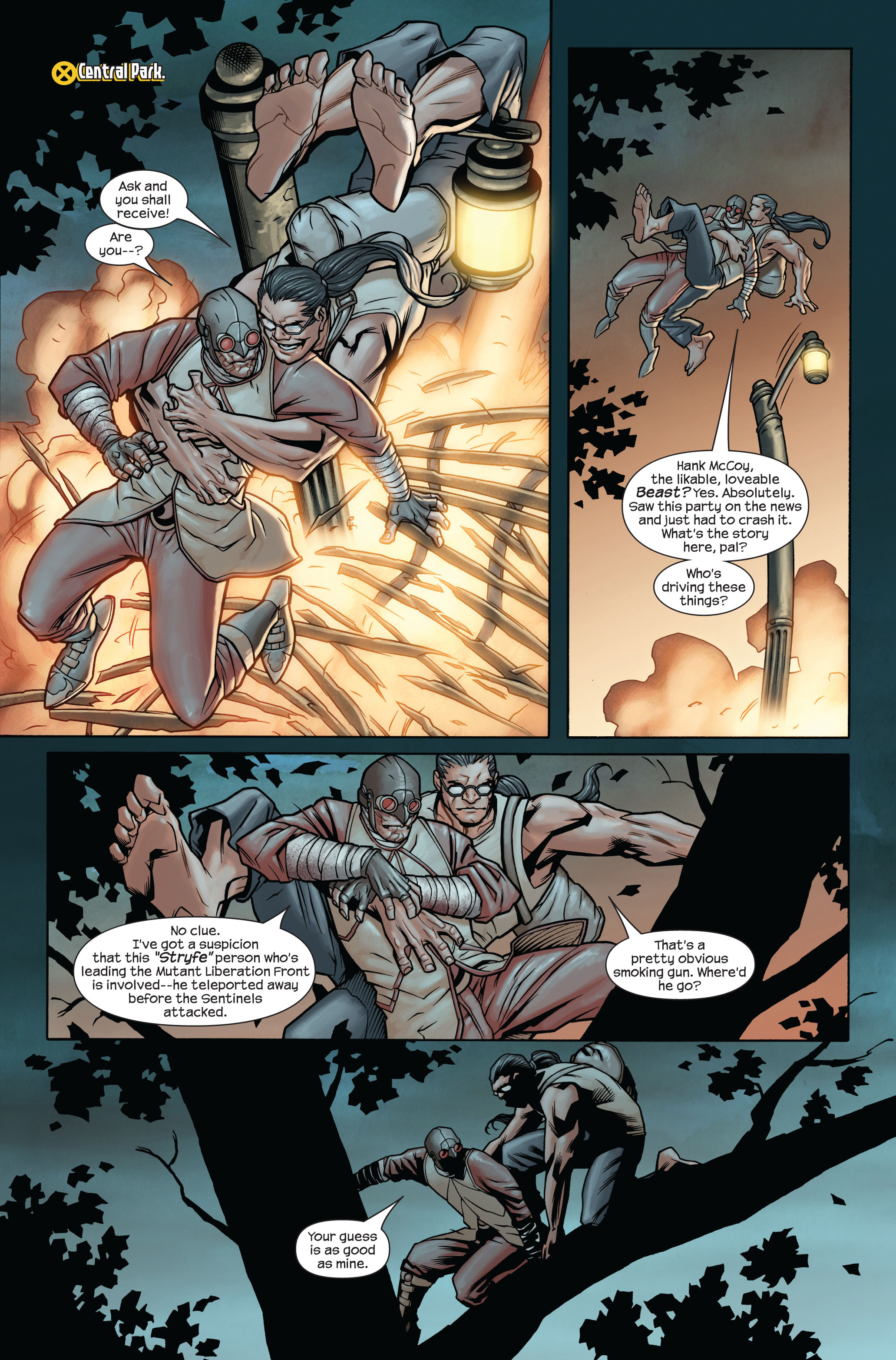 Read online Ultimate X-Men comic -  Issue #87 - 3