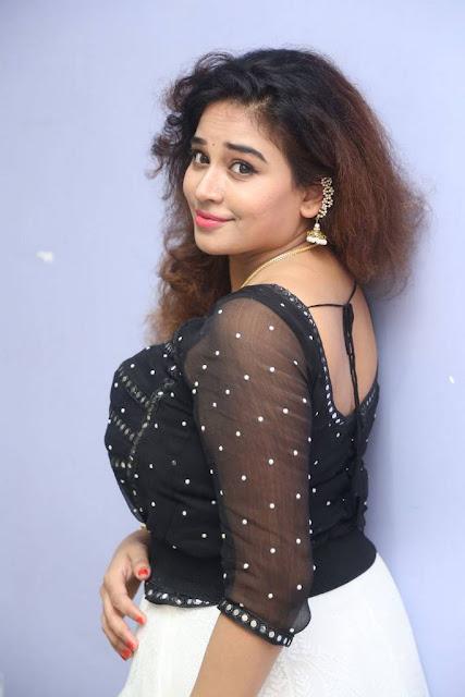 Jayathi Stills At Lachhi Movie Song Launch