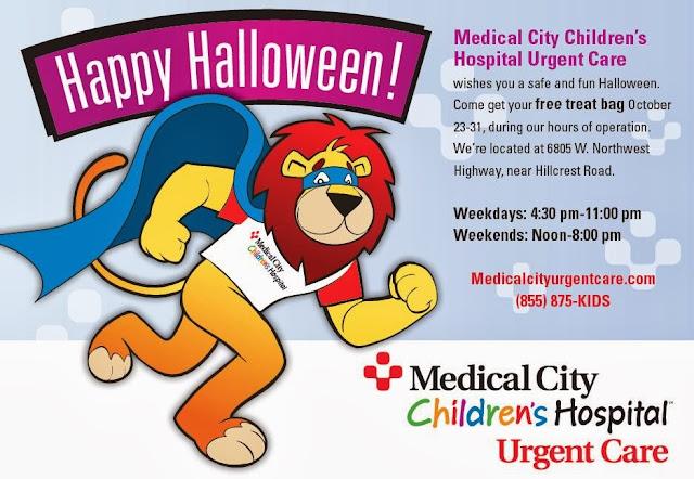 McKinney Mommas: Free Treat Bag at Medical City Children's ...