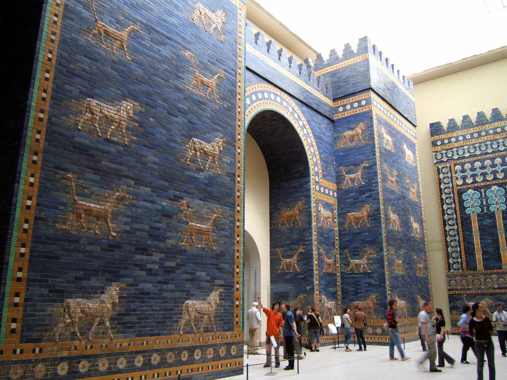Resultado de imagen para Fotos de las murallas de la antigua Babilonia