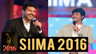 Jayam Ravi & Sivakarthikeyan amazing speech at SIIMA AWARDS 2016