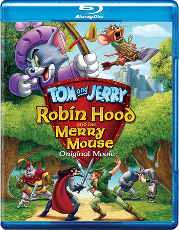 Tom & Jerry: Robin Hood (2012) Dual Audio Hindi 720p BluRay 200MB Movie Download