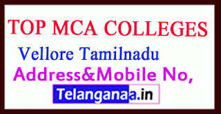Top MCA Colleges in Vellore Tamilnadu
