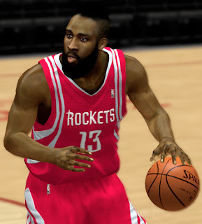 NBA 2K13 James Harden Cyber Face Mod Patch