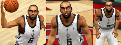 NBA 2K13 Alan Anderson Cyber Face NBA2K Mod