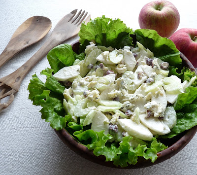 Dad's Blue Cheese Waldorf Salad