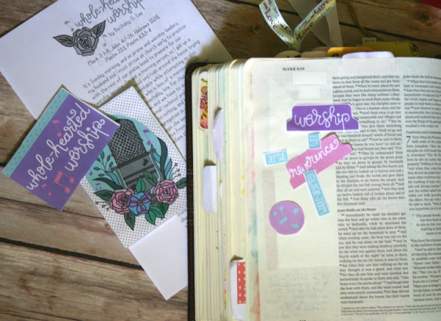 You do NOT have to be an artist to be creative in your journaling; try tracing onto your pages!