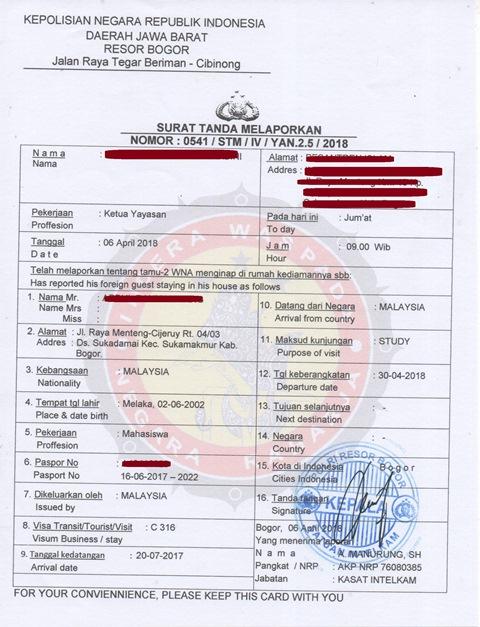 Contoh Surat Permohonan Stm Dari Polres Brankas Arsip