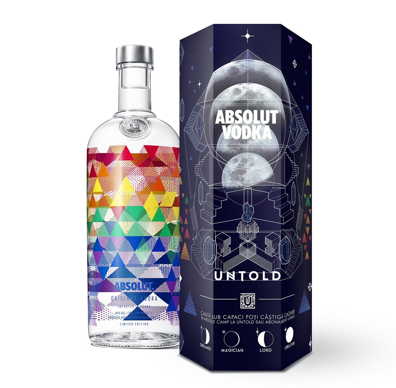 Absolut Special Edition Untold On Packaging Of The World