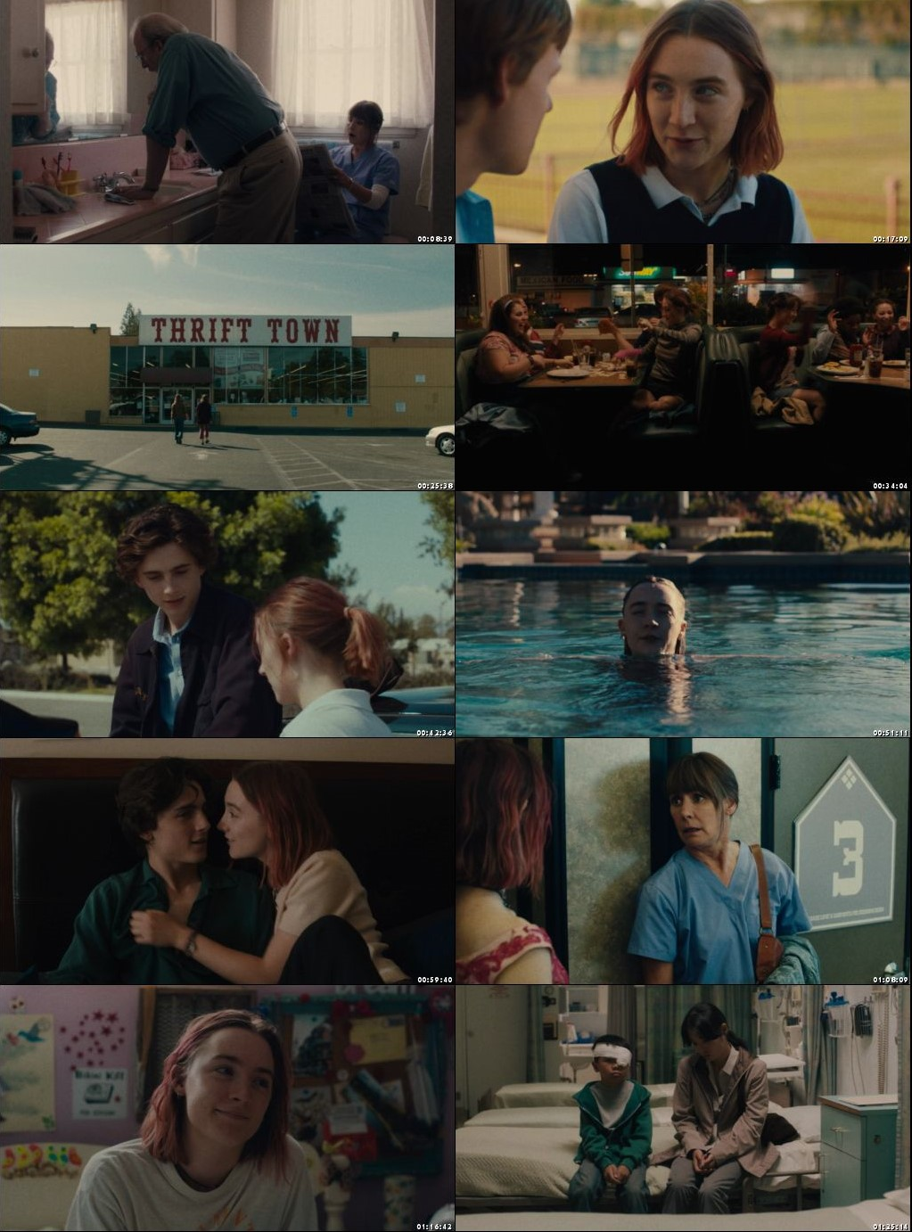 Lady Bird 2017 English 720p BluRay Full Movie Free Download