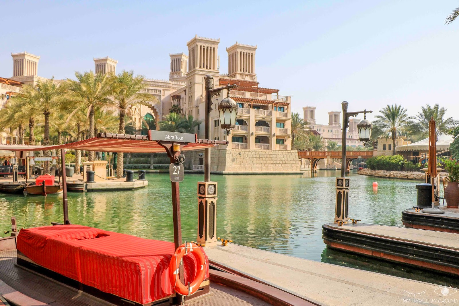 My Travel Background : Escale à Dubaï, que visiter en 3 jours ? - Madinat Jumeriah