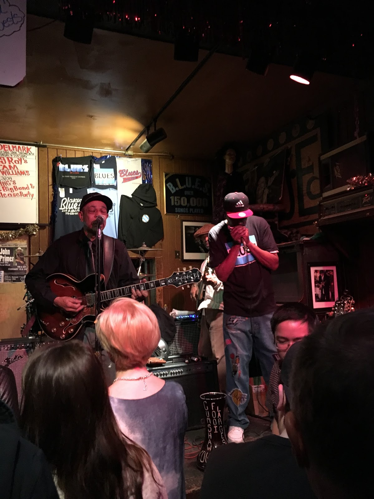 Chicago blues club