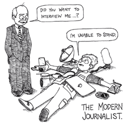 the modern journalist