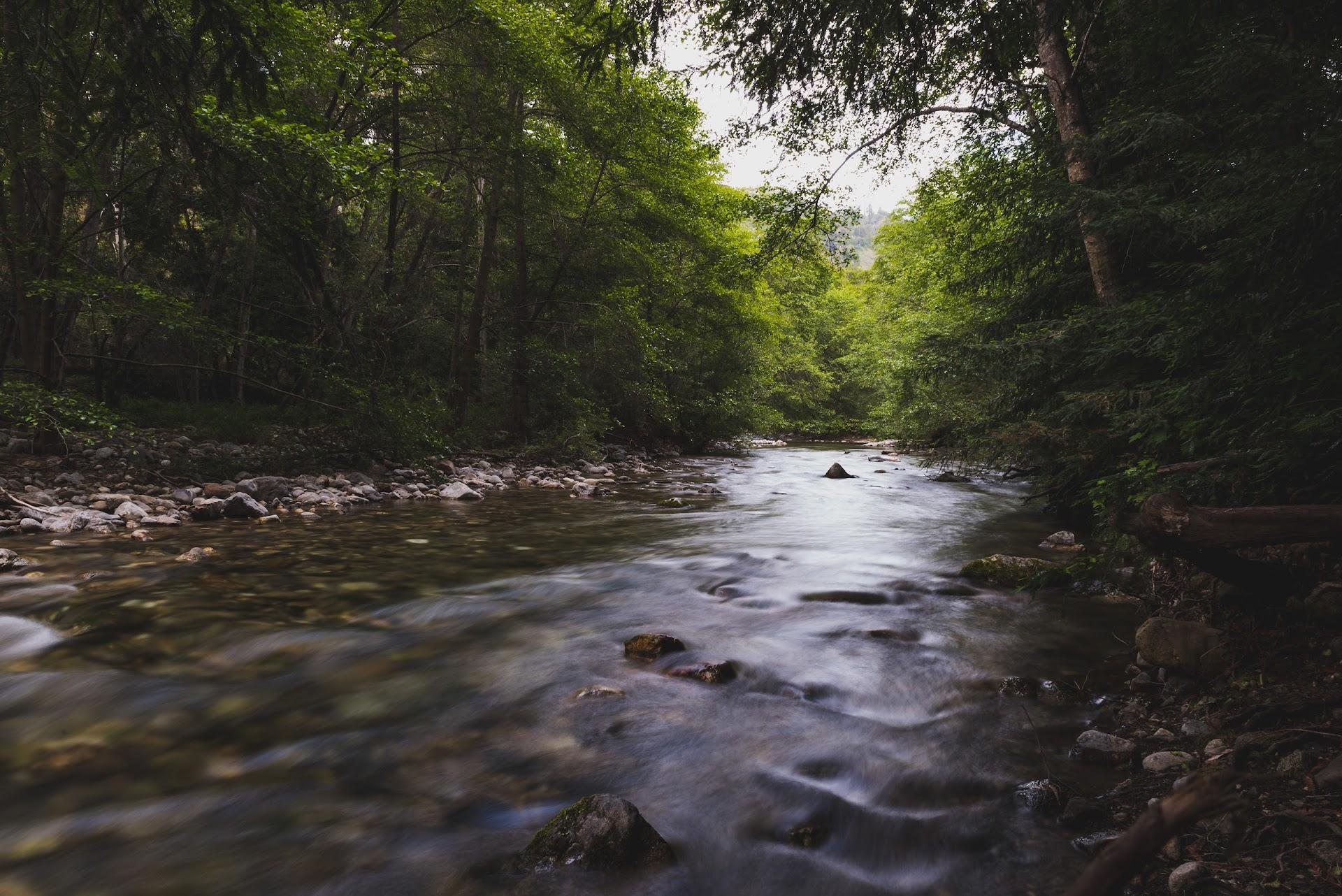 slow shutter speed river stream, big sur, pfieffer state park, big sur campgrounds, travel blog, see monterey