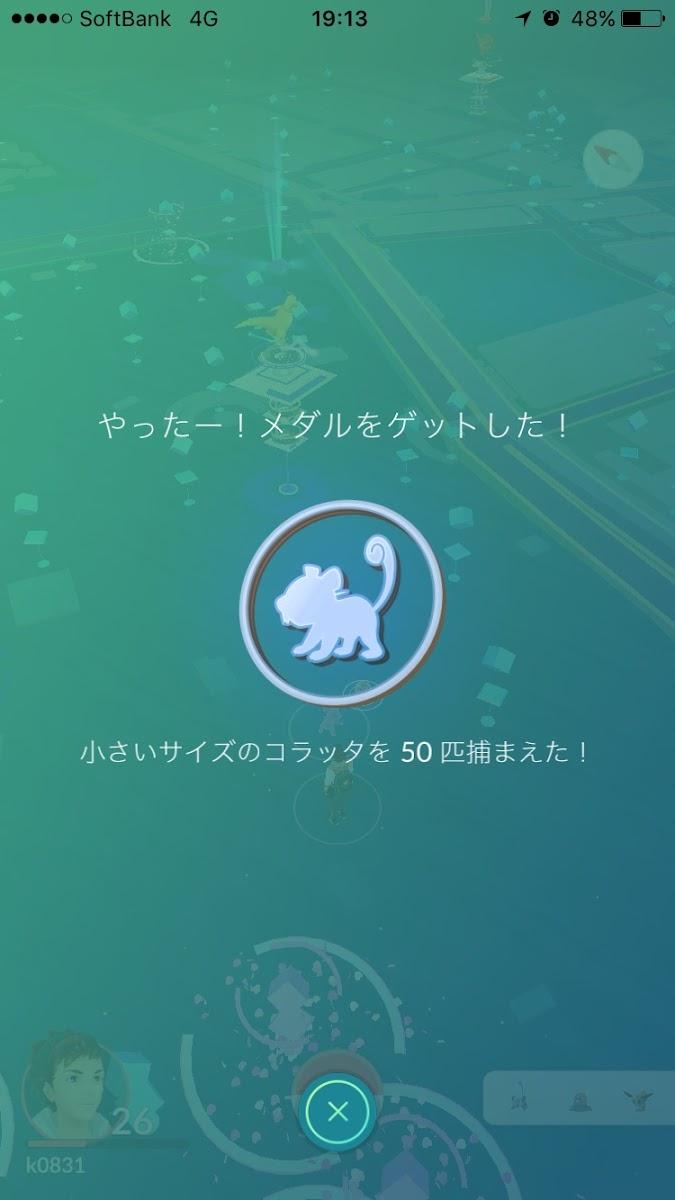 【ポケモンGo】プレイ記録
