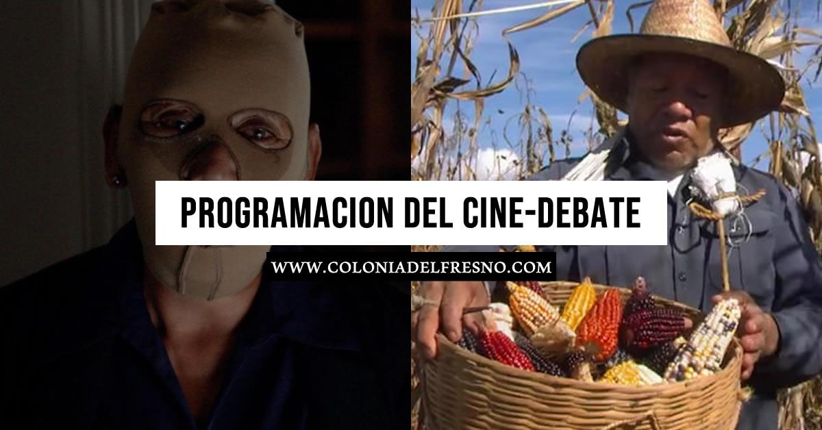 cine-debate de la colonia del fresno, lugar y horarios