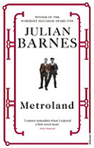 Metroland by Julian Barnes book cover