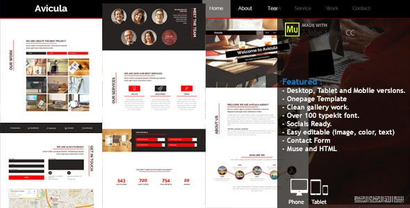 Premium Creative Muse Template