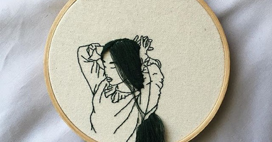 The embroidery art of Sheena Liam