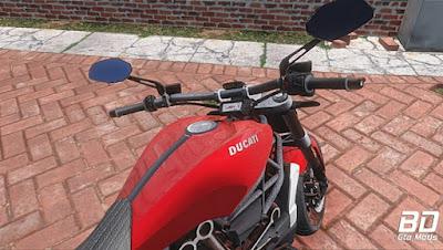 Mod , Moto , Ducati Diavel X 2016 para GTA San Andreas, GTA SA