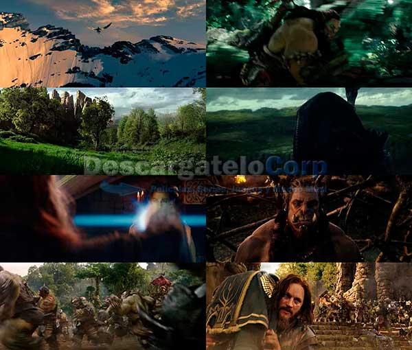 Warcraft El primer encuentro de dos mundos DVDRip Latino