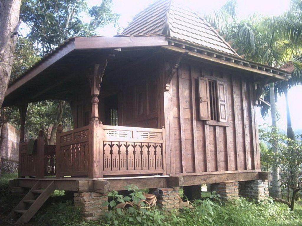 Kreasi Rumah Kayu Dari Jawa Modern