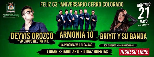 Aniversario de Cerro Colorado 2017
