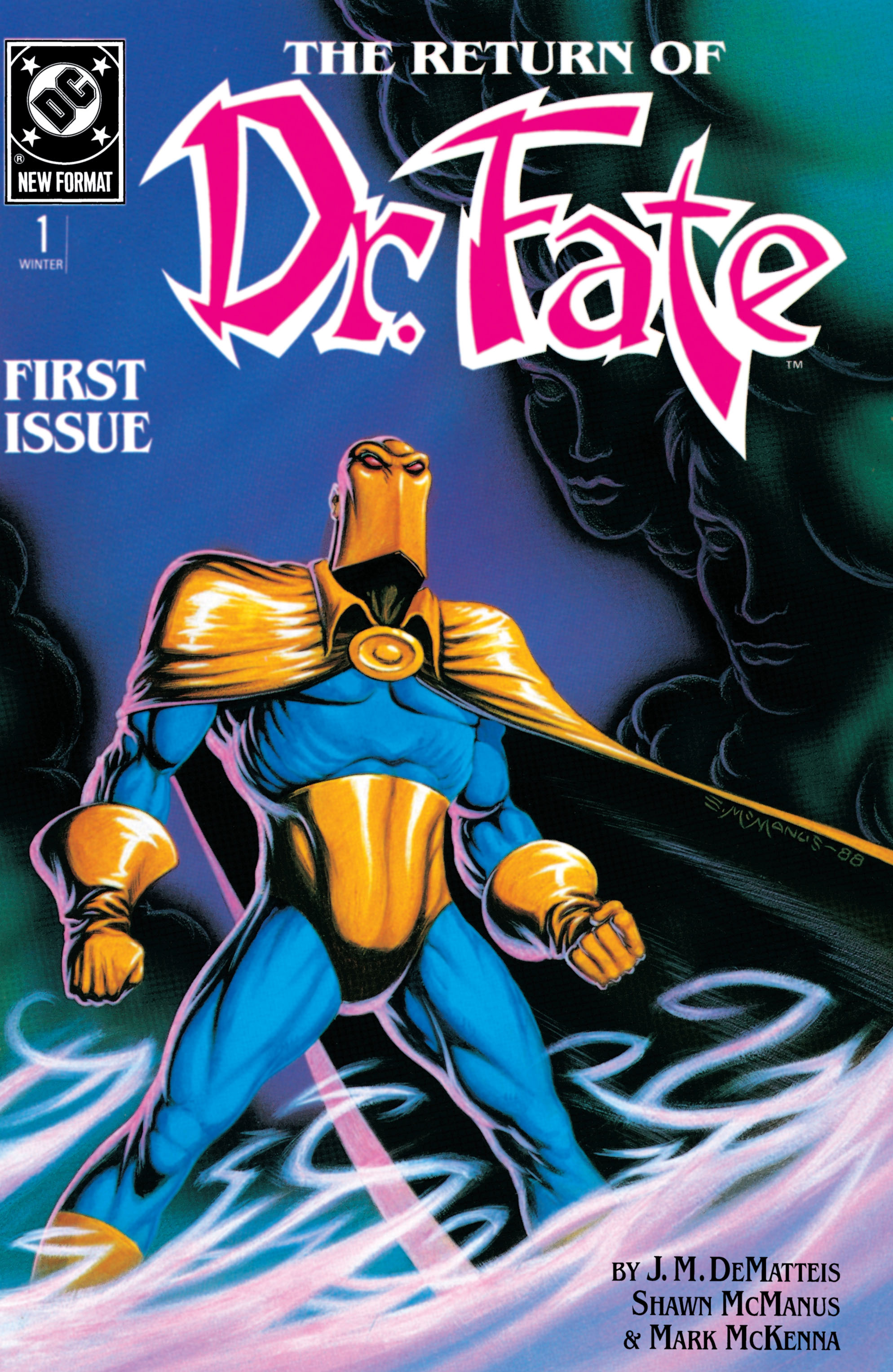 Doctor Fate (1988) 1 Page 1