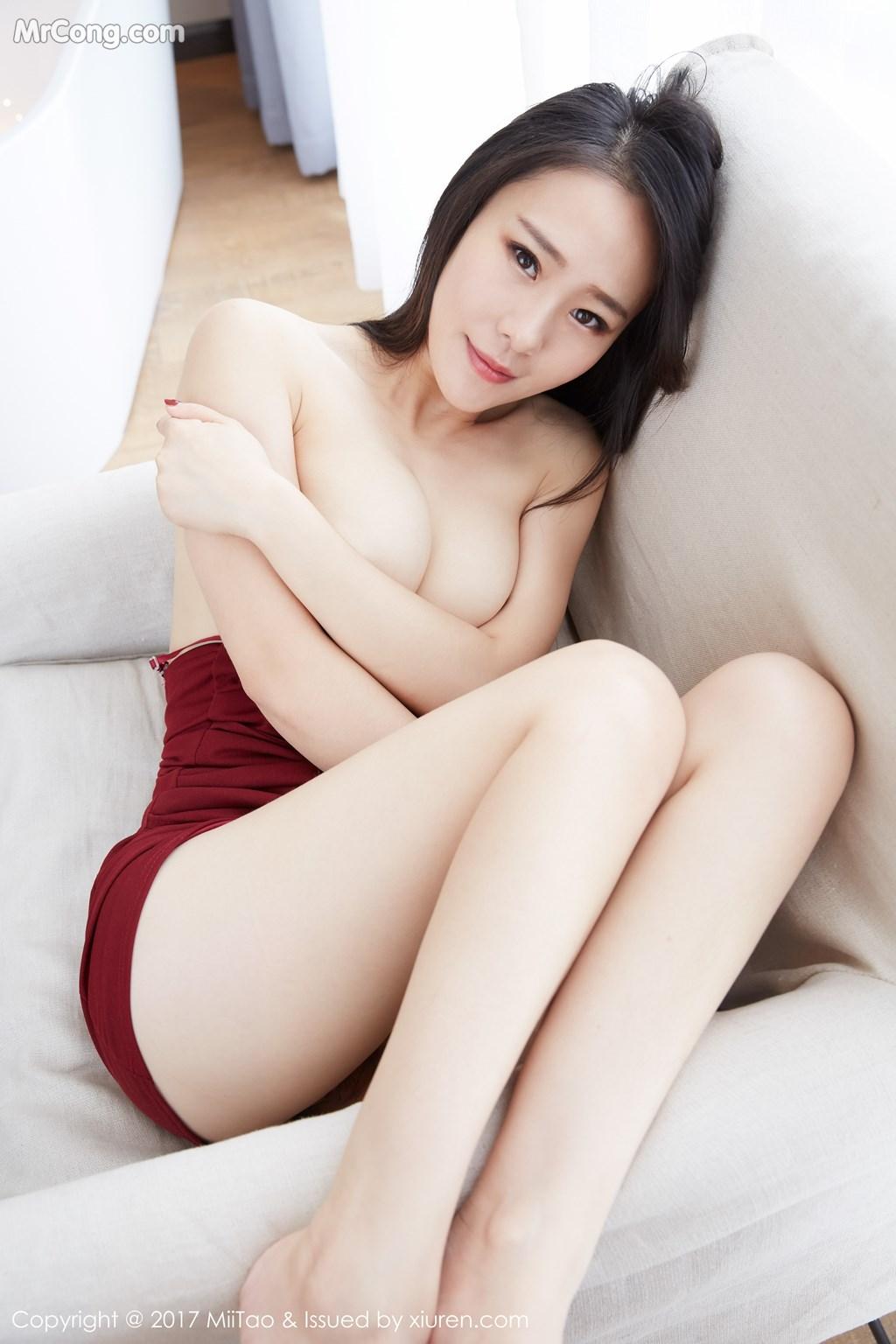 Image MiiTao-Vol.079-Yu-Wei-MrCong.com-024 in post MiiTao Vol.079: Người mẫu Yu Wei (雨薇) (54 ảnh)