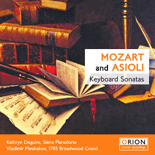 Mozart And Asioli: Keyboard Sonatas