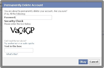 How to delete Facebook account permanentaly