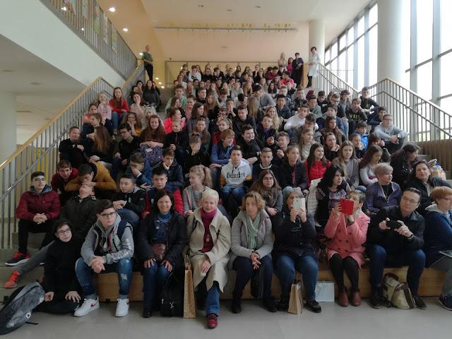 Μαθητές του 1ου Γυμνασίου Ναυπλίου στο Κόπερ της Σλοβενίας