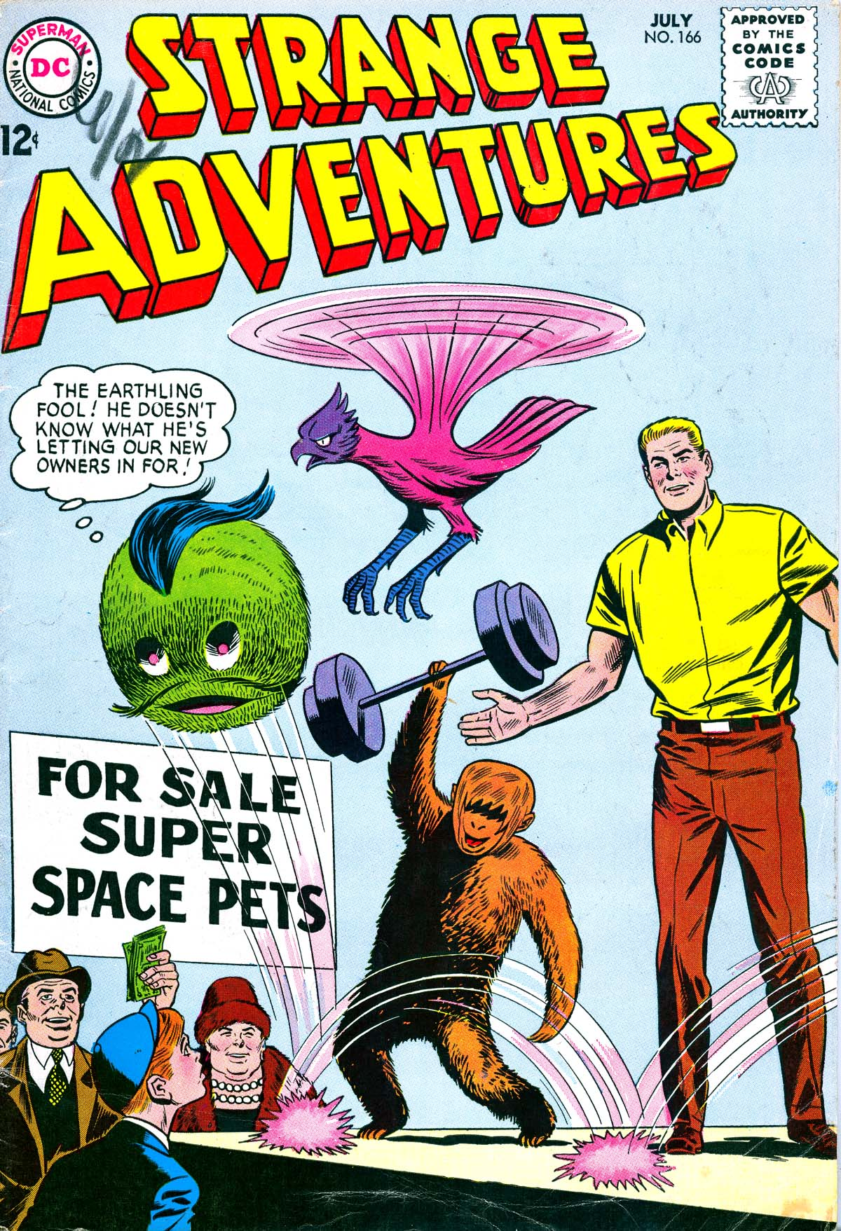 Strange Adventures (1950) issue 166 - Page 1