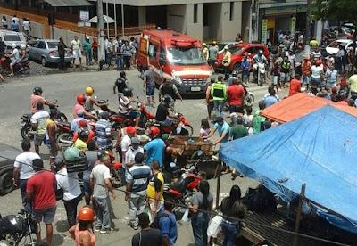 Em Guarabira, ex-PM  é assassinado a tiros dentro de feira livre