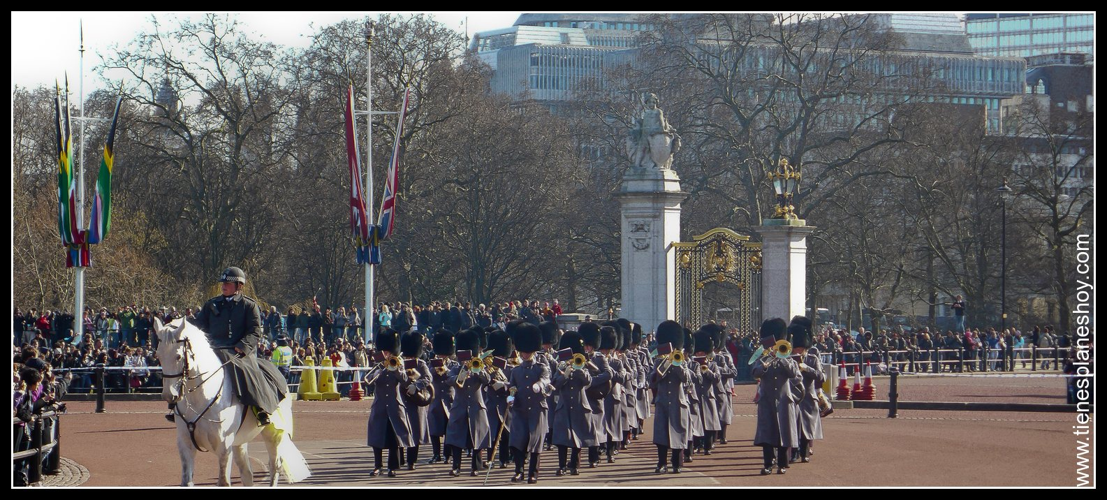 Cambio de Guardia Buckingham Palace Londres (London) Inglaterra