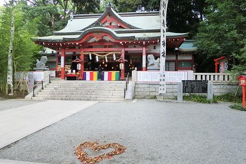 來宮神社のハート