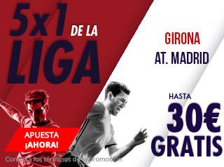 suertia promocion Girona vs Atletico 2 diciembre