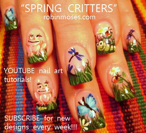 Nail Art by Robin Moses: graffiti nails, graffiti monkey ...