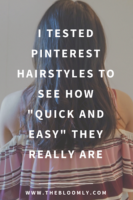 I Tested Pinterest Hairstyles to See How Quick and Easy They Really Are